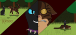 Tigerstar's Final Fight by xCryOfTheWolfx