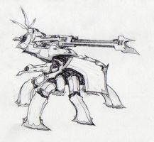 lusfa 'mammoth' heavy war mech by failurecrusade
