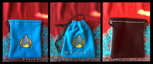 Star Trek TNG Science/ Medical Pouch by Whisski