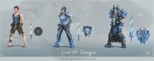 Level up - designs by iEvgeni