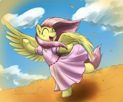 Fluttershy In Dress by otakuap