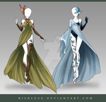 (CLOSED) Adoptable Outfit Auction 122-123 by Risoluce