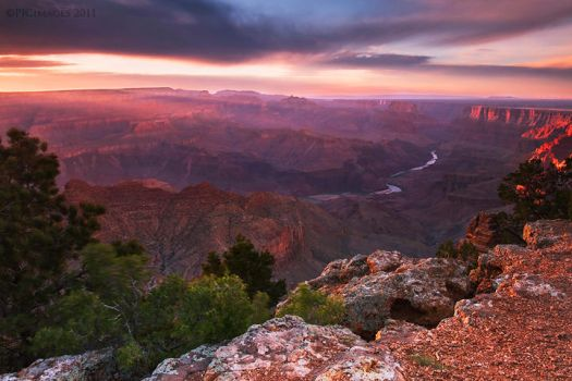 Grand Canyon Magic by PeterJCoskun
