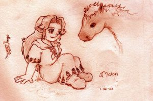 Malon's Gift by wings33