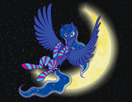My lovely Luna by Vasillium