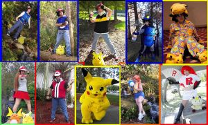 Pokemon Cosplay by pikabellechu