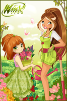 Cover of Winx Club Forum Magazine March by alamisterra