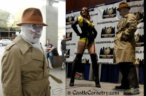 Rorschach from Watchmen by CastleCorsetry