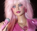 OOAK Jem and the Holograms Doll by ShannonCraven