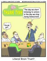 Stop Being Democrats by Conservatoons