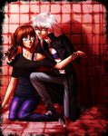 Commission - Bakura and Kim by AngelLust155