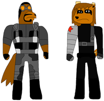 Airstrike and Winter Soldier by jacobyel
