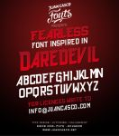 Daredevil Font by DarkoJuan
