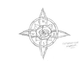 Compass Rose by chernobylblue