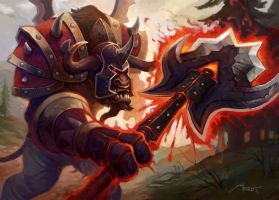 World of Warcraft - Shattering Strike by Vaejoun