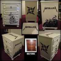 Metallica Nightstand by Lena-LU