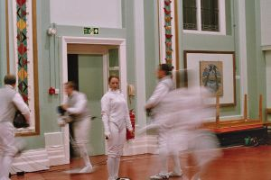 The Fencer's practice by Forrestris