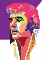 Elvis Presley in WPAP by wedhahai