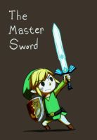 LoZ - The Master Sword by doramsc