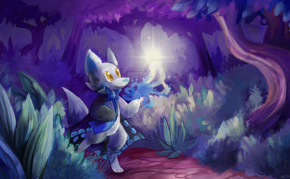 Candlelight (Commission) by mintinol