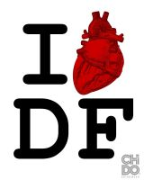 I LOVE DF by ChidoWear