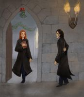 SA - Snape and Lily by yoolchie