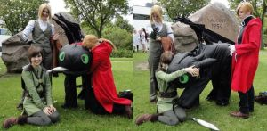 HTTYD and FMA ANDEREGN by 77Flower77