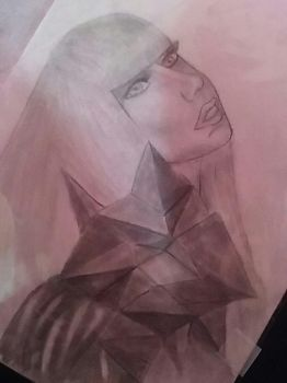 Lady gaga drawing 2 by Savvyydgn