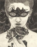 Black mask by nightingales-rose