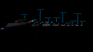 TCoG Main Story starships 2 by Marksman104