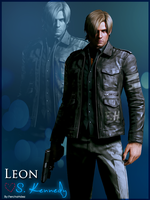 Leon Kennedy Resident Evil 6 by JillValentinexBSAA