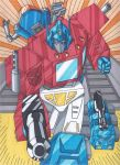 Optimus and Friends by RobertMacQuarrie1