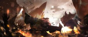 Terran vs Zerg by tnounsy