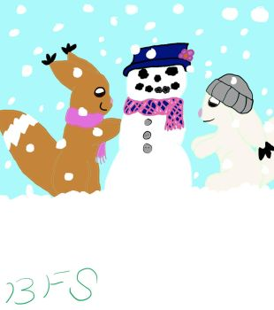 Bfs Snowperson by SYDCA