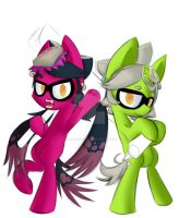 The Squid Sisters (MLP version) by UltimateNightcore