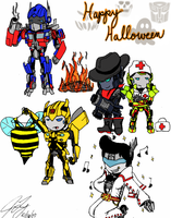 TF - Happy Halloween by TaintedTamer