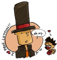I Heart Professor Layton by soks2626