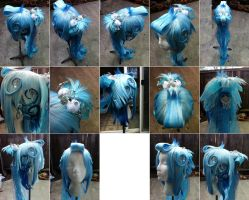 Icy Waterfall Original Design Wig by taiyowigs