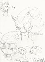 Shadow sketches by kitten133