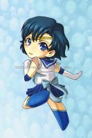 Chibi Sailor Mercury by niolynn