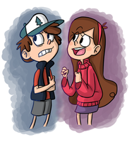 Ugh, Mabel... by PastelWing