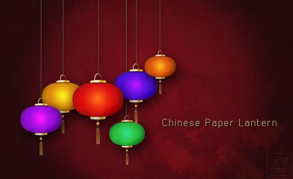 Chinese paper lantern by Grecian888