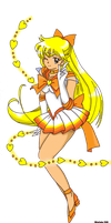 Sailor Moon Sailor Venus by ChibiThekla