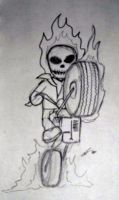Ghost Rider by jcastick