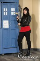 Doctor Who Photoshoot: Gwen Cooper by StrangeStuffStudios