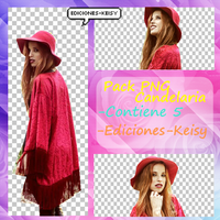 Pack PNG Candelaria E-K by Ediciones-Keisy