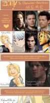 Character Obsession Meme by SassyLilPanda