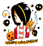 NYAPPY HALLOWEEN by nyappylicious