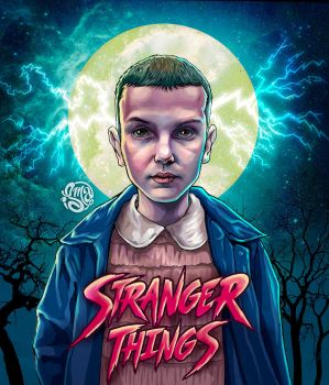 Eleven - Stranger Things by ismaComics