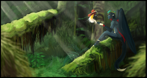 So Much Green by shorty-antics-27